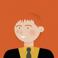 George Weasley from Penleydesigns