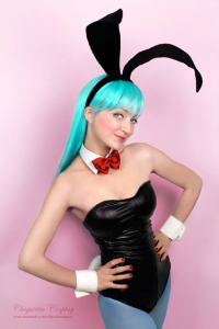 Chiquitita Cosplay as Bulma/Bunny