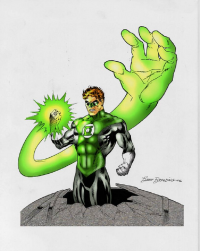 Green Lantern from artistajpentrenando