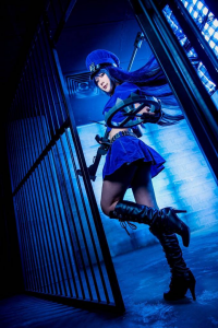 Lawliet as Caitlyn/Officer