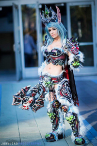 Danielle Beaulieu as Blood Elf/Death Knight