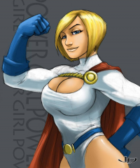 Power Girl from Jeff Diolata