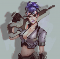 Widowmaker from Mstrmagnolia