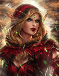 Blood Elf from Dena Helmi