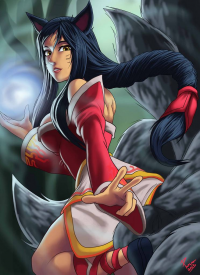 Ahri from André Parcesepe