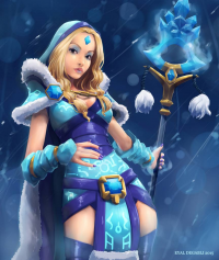 Crystal Maiden from Eyald