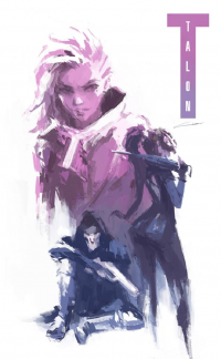 Sombra, Widowmaker, Reaper from Alex Chow