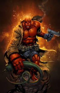 Hellboy from Sean Ellery