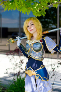 Kasia Cosplay as Lux