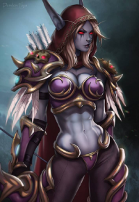 Sylvanas Windrunner from Dandonfuga