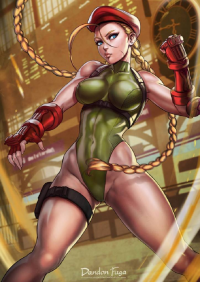 Cammy White from Dandonfuga