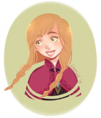 Anna of Arendelle from camicuti97