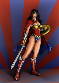 Wonder Woman from Antonio Ricardo Moreira Mello
