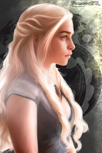 Daenerys Targaryen from Fernando Neves Rocha