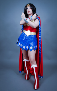 Neferet-Cosplay as Wonder Woman