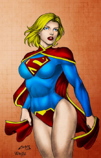 Supergirl from Jeff Wade