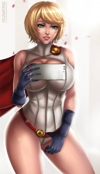 Power Girl from Flowerxl