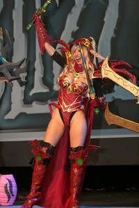 Jo-Jo Chen as Valeera Sanguinar