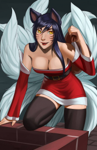 Ahri from Ashe Avarosa