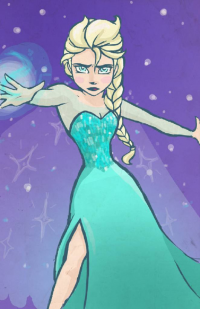 Elsa of Arendelle from Allison Penelope