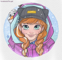 Anna of Arendelle from Fra-gai