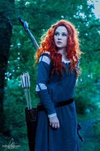 Koni Cosplay as Princess Merida