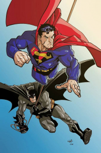 Batman, Superman from Andre-vaz