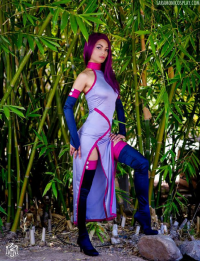 Sara Moni Cosplay as Psylocke