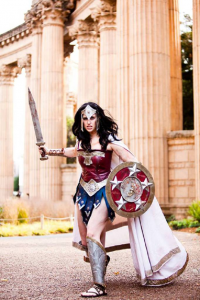 Meagan Marie as Wonder Woman