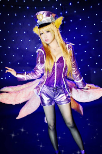 Bell Cosplay as Ahri/Popstar