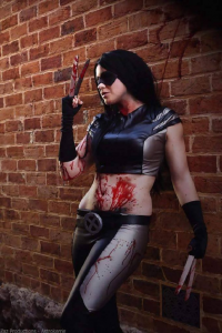 Astrokerrie Cosplay as X-23