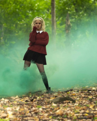 Lilithia Dark as Sabrina Spellman