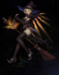 Mercy/Witch from 木昆
