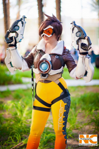 Sirena Cosplay as Tracer
