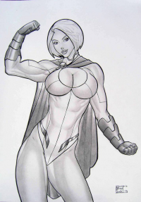 Power Girl from Demetrio Braga