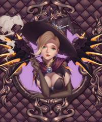 Mercy/Witch from -yus-