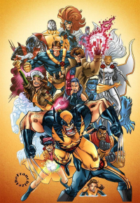 X-Men from Jerry Gaylord