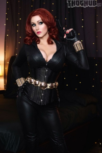 Angie Griffin as Black Widow