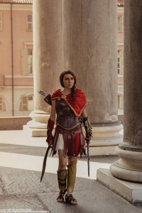Shivaabarai Cosplay as Kassandra