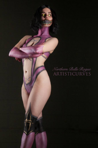Northern Belle as Mileena