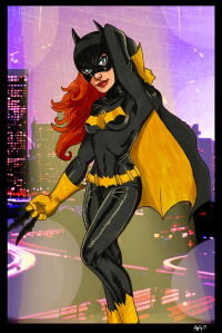 Batgirl from Anthony Aguilar