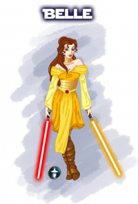 Belle/Jedi from White-Magician