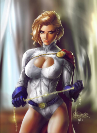 Power Girl from Ivanna Matilla