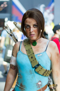 Andachan as Lara Croft