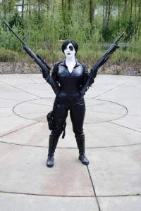 Huntress Crafts and Cosplay as Domino