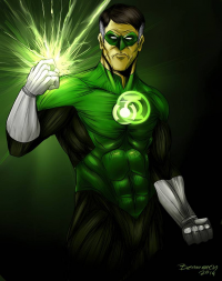 Green Lantern from Bemannen02