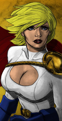 Power Girl from James Mascia