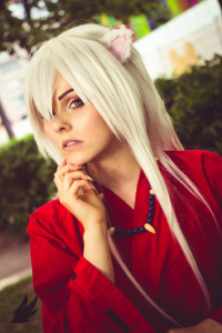 Cosplayer Nanami as Inu Yasha, Delamort Cosplay as unknown character