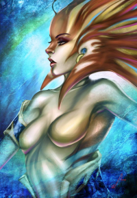 Naga Siren from Jord Christian Nicanor