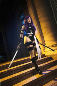 Its Brittney Joy as Psylocke